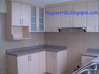 Muebles de melamine galeria cocinas for Altura muebles cocina