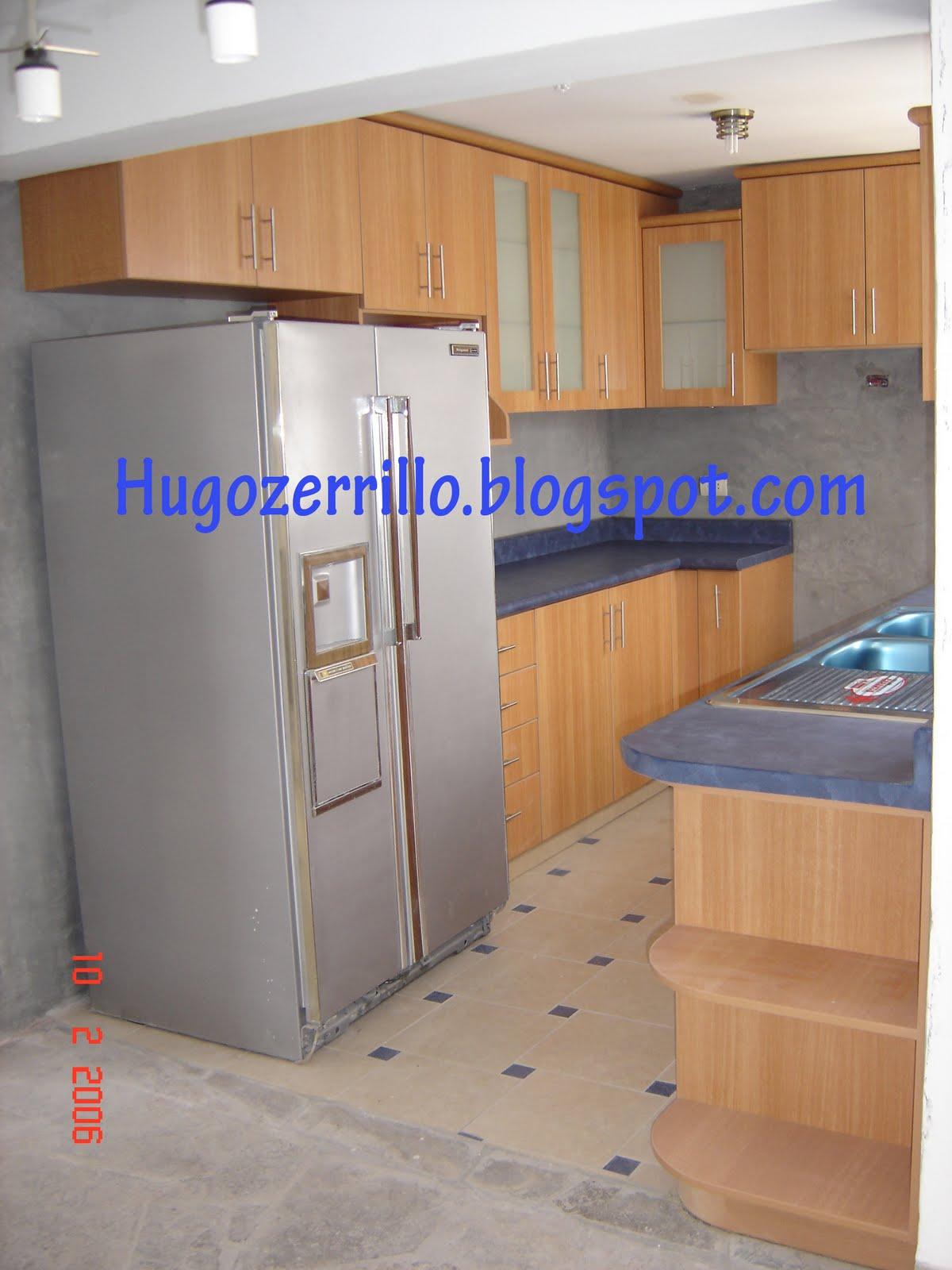 Muebles de melamine galeria cocinas for Planos de cocina lavadero