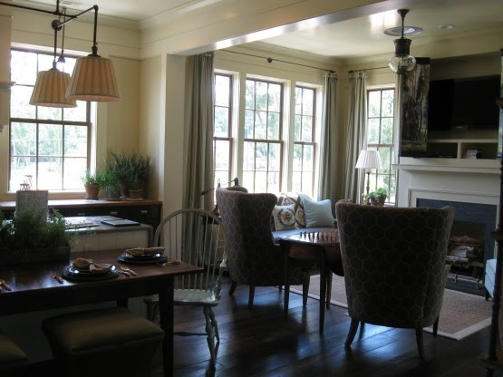 First a dream southern living idea house the kitchen for Southern living keeping room ideas