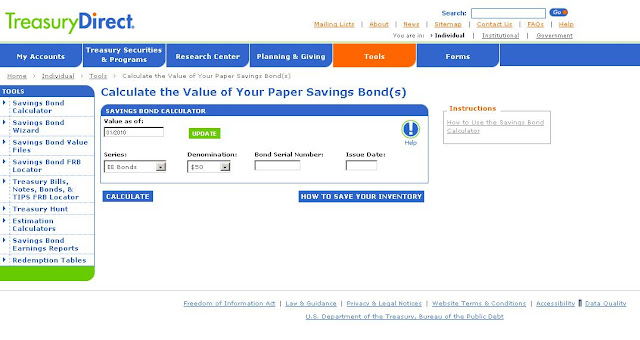 www.savingsbonds.gov/sav/savcalc.htm - U.S. Savings Bond Calculator