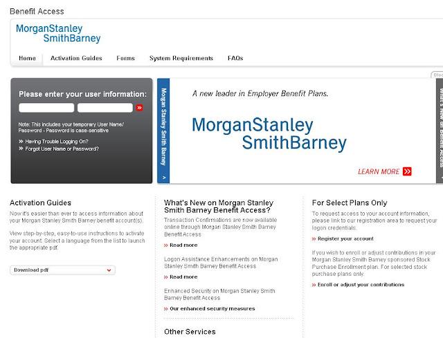 Morgan Stanley Clientserv Login