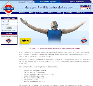 How to use IDEA Cellular Bill Payment Online?