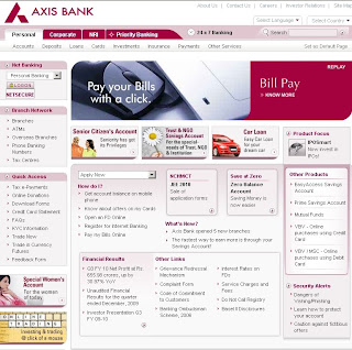 Axis Bank Net Banking Login Guide
