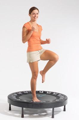 Mini Trampoline Rebounder Exercises