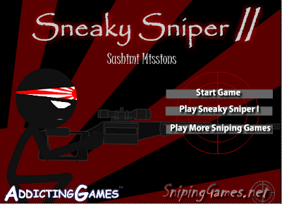 Sneaky Sniper 2 walkthrough, Cheats & Hints