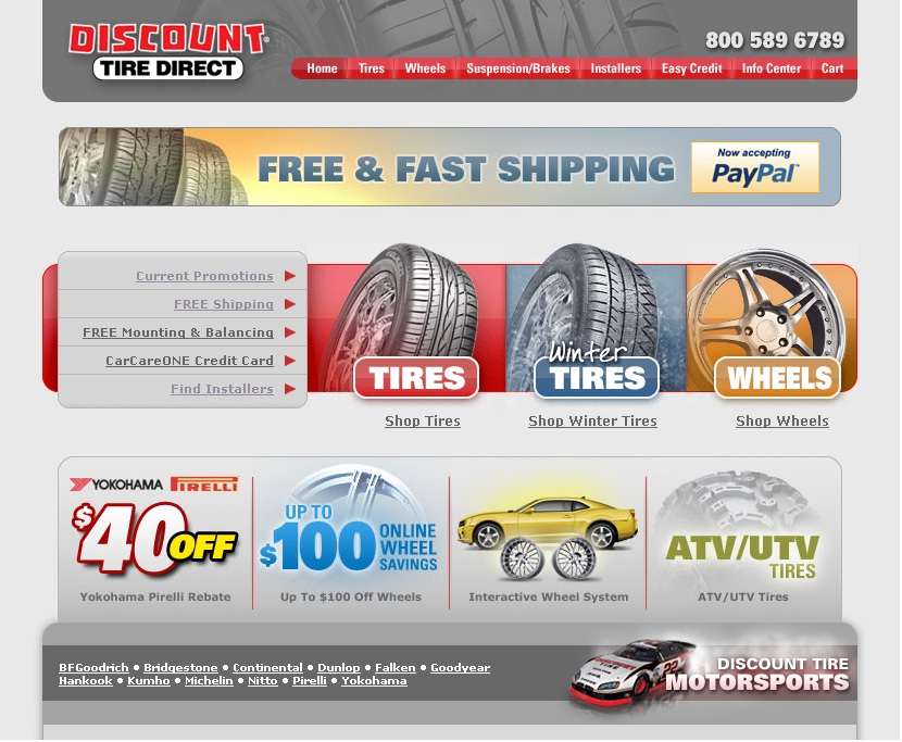discount tire store. makeup Discount Tire or