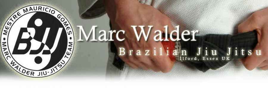 Brazilian Jiu Jitsu (BJJ) in Essex with Marc Walder
