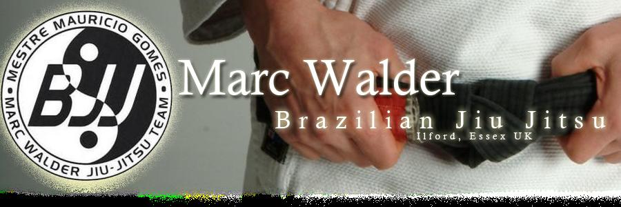 Brazilian Jiu Jitsu (BJJ) in Essex with Marc Walder