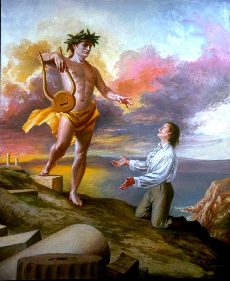 Mitologia grega apolo deus da luz f sica e espiritual for En la mitologia griega la reina de las amazonas