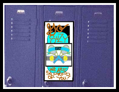 Learn to Make Locker Decorations!
