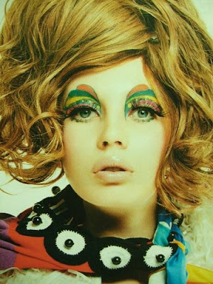 60s makeup styles. twiggy eye makeup.