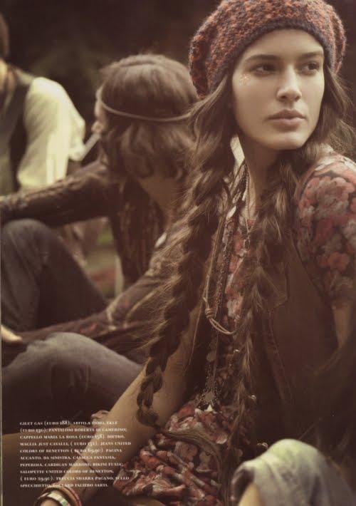 hippie hairstyle. Hippie Hair Styles middot;
