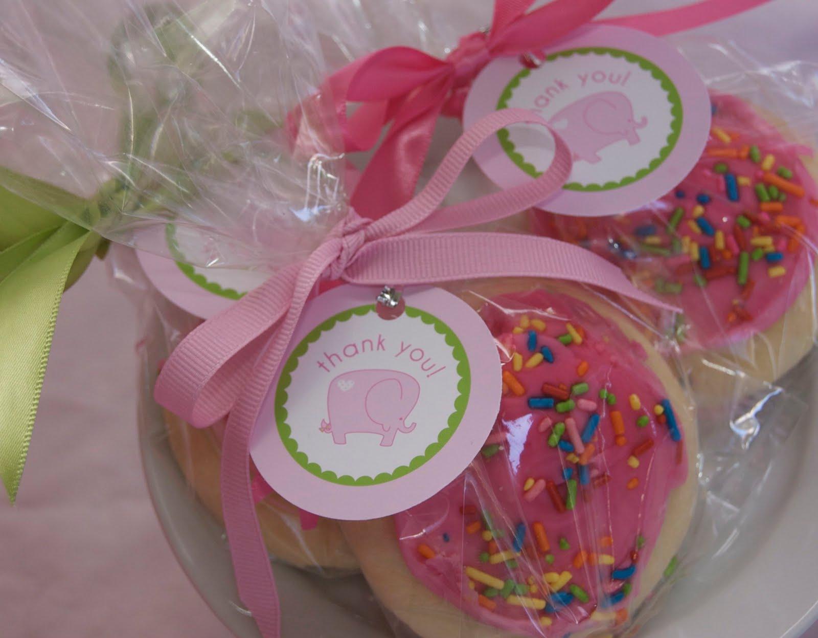 Pink Polka Dot Elephant Baby Shower Invitations and Custom Banner
