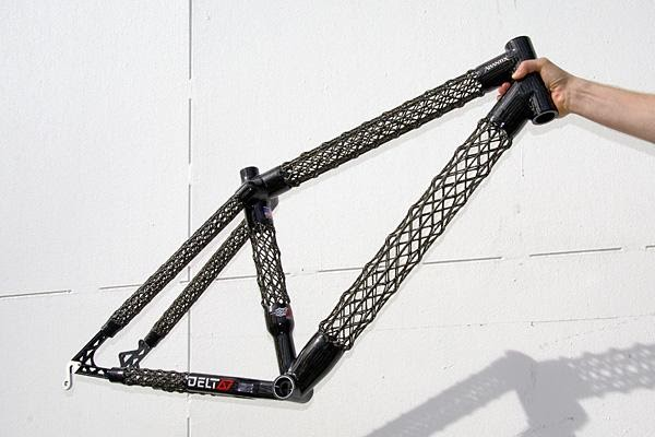 Cozy Beehive Isotruss Open Lattice Structure For Bicycle