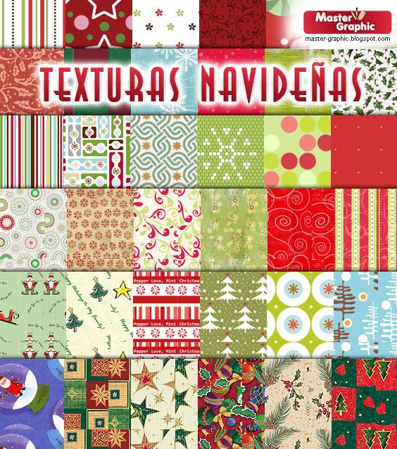 Texturas navideñas gratuitas