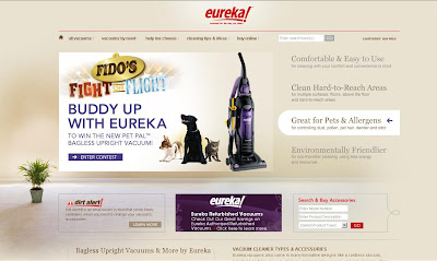 Eureka PetContest site offers Fido's Fight or Flight Sweeptakes