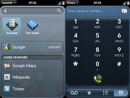 how to create a webos app