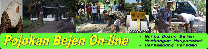 POJOKAN BEJEN ON-LINE