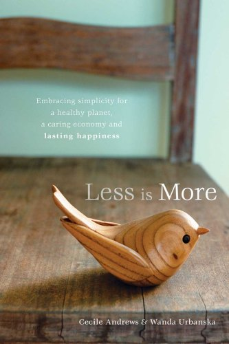 Less Is More Boek Of Green Living Review Less Is More Book Review