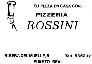 Pizzer a rossini - Pizzeria el muelle puerto real ...