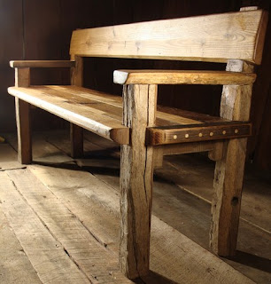 Bench by newmoonsalvage on Etsy