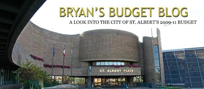 Bryan's Budget Blog