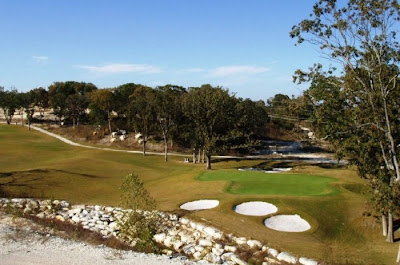 sherman hills golf club - sherman texas - 18th hole