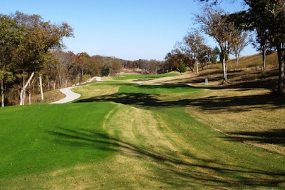 sherman hills golf club - sherman texas - 9th hole