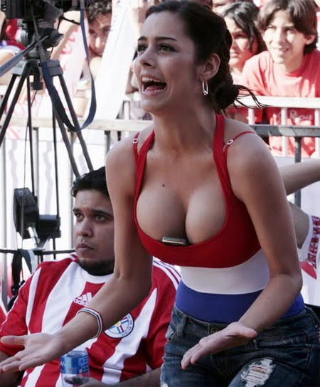 paraguay fan larissa riquelme hot photoshoot
