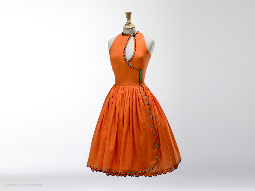 "BèéLle R'""OoObE 2012 ♥ Brigh-orange-dress"