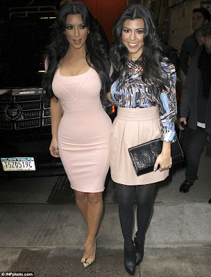 Kim Kardashian Unveils FIVE Different Looks in ONE Day As She Promotes Reality Show Photos