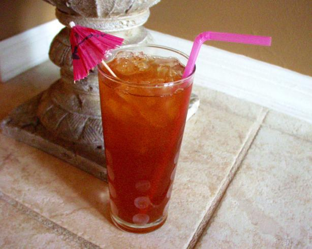 food and life: Lilikoi (Passion Fruit) Iced Tea
