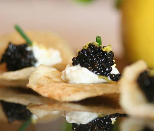 Temperarte canap s de caviar for Canape de caviar