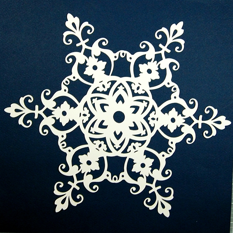 Accent Design Paper Accents Shape Chip Tag Snowflake