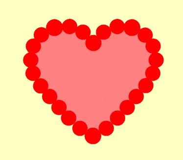 Capadia Designs Scalloped Heart Tutorial