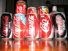 my coke's collection frm other countrys..