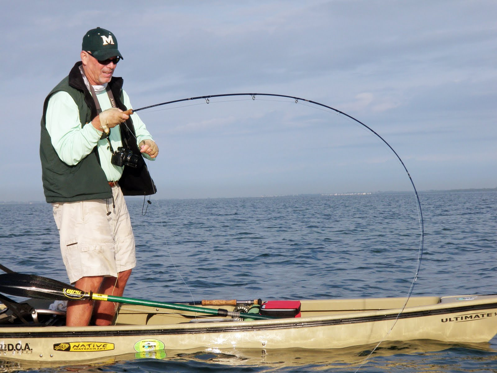 Southern kayak kronicles make your kayak fly fishing for Fly fishing kayak