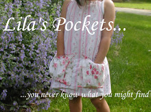 Check out Lizzy's sister site: Lila's Pockets