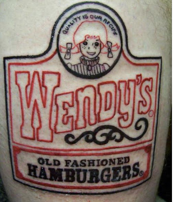 I've certainly seen worse logo tattoos.
