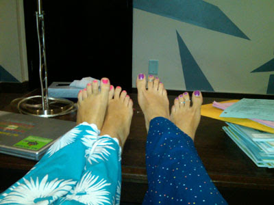 Miley Cyrus News - Unofficial Fan Blog: Miley and Emily's Feet