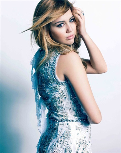 miley cyrus so undercover white dress