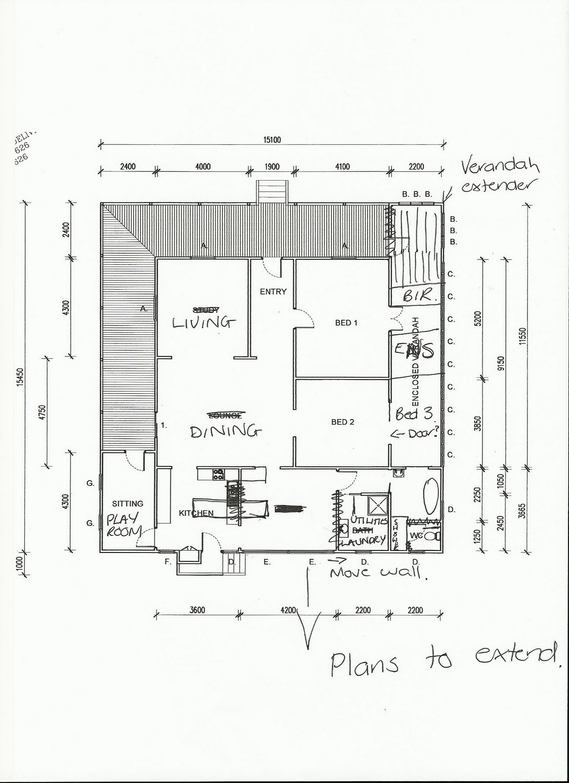 Galley Kitchen Plans