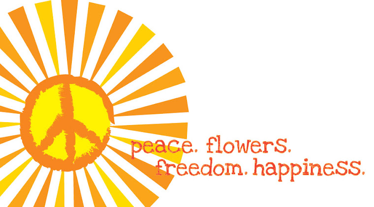 peace. flowers. freedom. happiness.