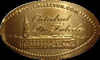 MONEDAS ELONGADAS.- (Spanish Elongated Coins) TO-002-1