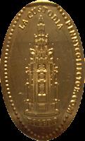 MONEDAS ELONGADAS.- (Spanish Elongated Coins) TO-002-4