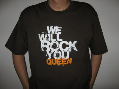 Kaos Queen We will rock you