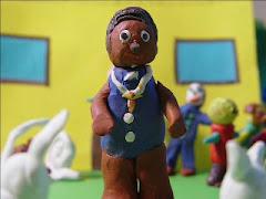 """""""EL PADRE NEGRO"""", cortometraje animación."""