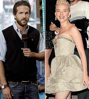 Ryan Reynolds  Scarlett on Scarlett Johansson And Ryan Reynolds Wed