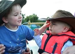Ed and Tom find my boaty hats