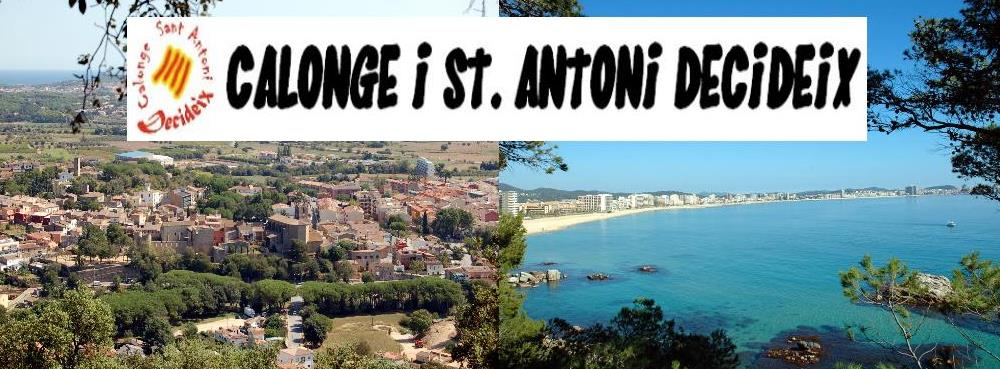 Calonge Sant Antoni Decideix